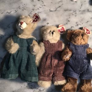 3 Ty Collectible Bear's